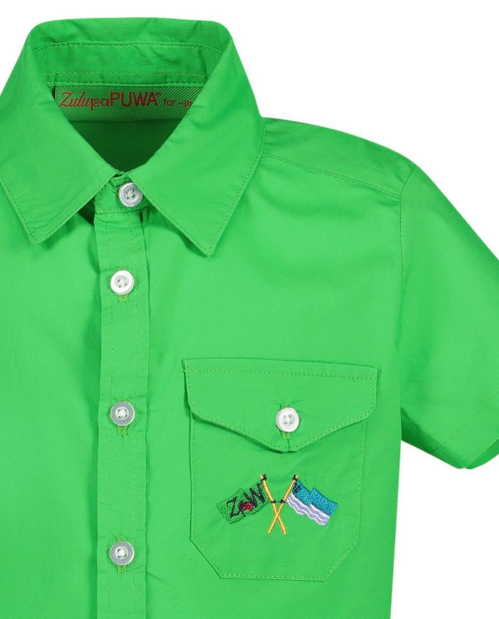 Hemden - Grasgroen hemd